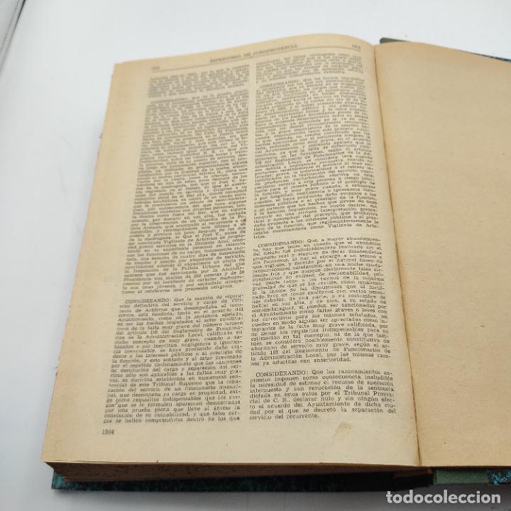 Libros de segunda mano: REPERTORIO DE JURISPRUDENCIA. EDITORIAL ARANZADI. TOMO XXIV. 1ª ED. 1957. PAGS. 1264. - Foto 4 - 288565978