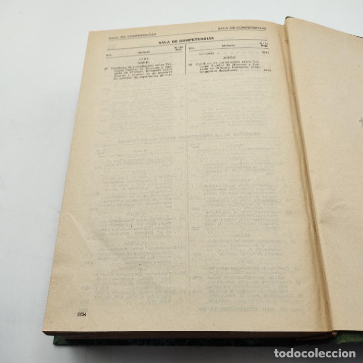 Libros de segunda mano: REPERTORIO DE JURISPRUDENCIA. EDITORIAL ARANZADI. TOMO 2. 1ª ED. 1963. PAGS. DESDE 1825 A LA 3634. - Foto 4 - 288566288