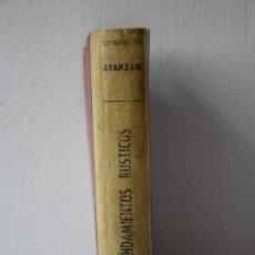 Libros de segunda mano: ARRENDAMIENTOS RUSTICOS - ARANZADI - 1959. Lote 288982578