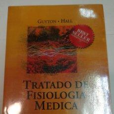 Libri di seconda mano: GUYTON Y HALL TRATADO DE FISIOLOGIA MÉDICA SA5678. Lote 289481753