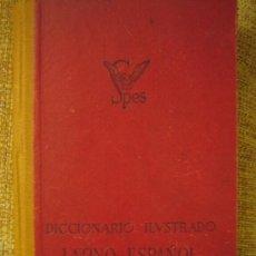 Diccionarios de segunda mano: DICCIONARIO ILUSTRADO DE LATIN. LATINO - ESPAÑOL - LATINO, EDIT SPES AÑO 1950.. Lote 26028137