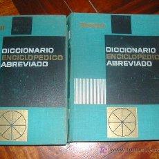 Diccionarios de segunda mano: DICCIONARIO ENCICLOPEDICO. Lote 27526392