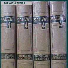 Diccionarios de segunda mano: LIBROS DICCIONARIO SALVAT 1967. Lote 26358244