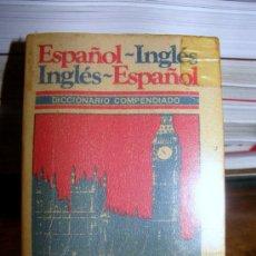 Diccionarios de segunda mano: MINI DICCIONARIO DE INGLÉS - ESPAÑOL Y ESPAÑOL - INGLÉS. Lote 27544780
