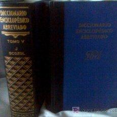 Diccionarios de segunda mano: DICCIONARIO ENCICLOPÉDICO DE ESPASA CALPE AÑO 1957 8 TOMOS. Lote 27640061