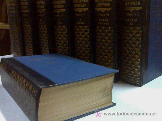 Diccionarios de segunda mano: DICCIONARIO ENCICLOPÉDICO DE ESPASA CALPE AÑO 1957 8 tomos - Foto 3 - 27640061
