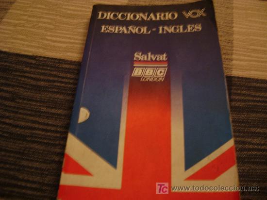DICCIONARIO VOX, ESPAÑOL INGLES, SALVAT, BBC, LONDON (Libros de Segunda Mano - Diccionarios)