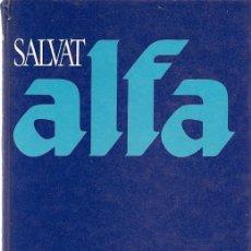 Diccionarios de segunda mano: SALVAT ALFA: DICCIONARIO ENCICLOPÉDICO. Lote 19165766