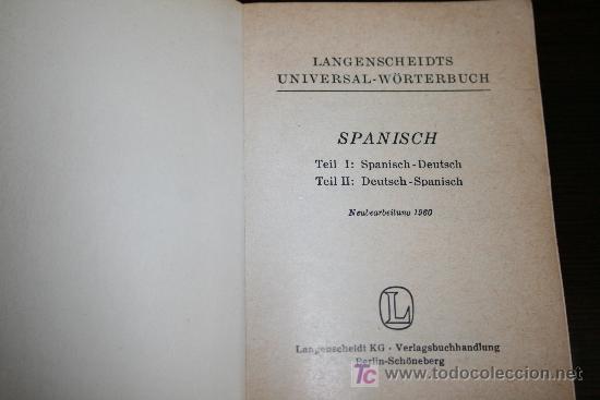 Diccionarios de segunda mano: MINI DICCIONARIO ALEMÁN - ESPAÑOL - 1960 - Foto 2 - 23334715