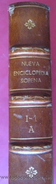 DICCIONARIO ILUSTRADO LENGUA ESPAÑOLA - SOPENA 1953. TOMO 1.. ENVIO PAQUETE AZUL GRATIS¡¡¡ (Libros de Segunda Mano - Diccionarios)