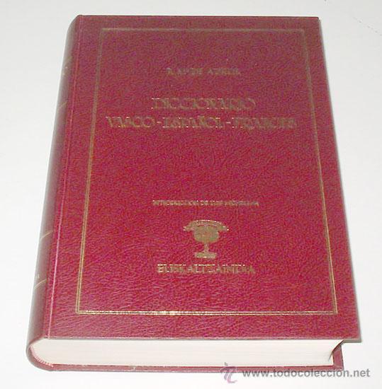 diccionario vasco español frances, por r. mª az - Comprar