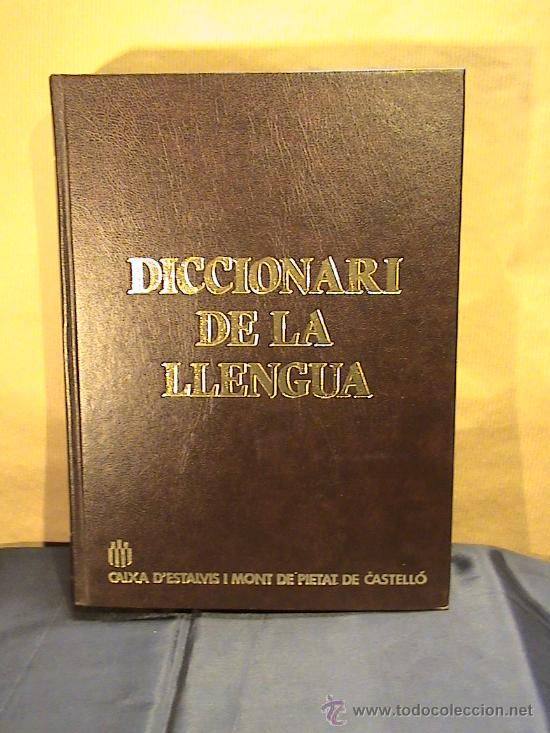 DICCIONARI DE LA LLENGUA (Libros de Segunda Mano - Diccionarios)