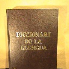 Diccionarios de segunda mano: DICCIONARI DE LA LLENGUA. Lote 26624211