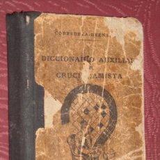 Diccionarios de segunda mano: DICCIONARIO AUXILIAR DEL CRUCIGRAMISTA POR CORREDERA HERNÁNDEZ EN VALENCIA 1943 (MINIATURA). Lote 25467535