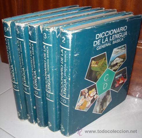 DICCIONARIO DE LA LENGUA GENERAL BÁSICA 5T POR GUILLERMO B. FLORÍA DE PLAZA JANÉS EN BARCELONA 1978 (Libros de Segunda Mano - Diccionarios)