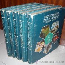 Diccionarios de segunda mano: DICCIONARIO DE LA LENGUA GENERAL BÁSICA 5T POR GUILLERMO B. FLORÍA DE PLAZA JANÉS EN BARCELONA 1978. Lote 18498284