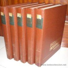 Diccionarios de segunda mano: DICCIONARIO ENCICLOPÉDICO BRUGUERA 5T (COMPLETO) DE BRUGUERA EN BARCELONA 1976. Lote 27231382