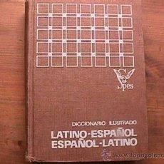 Diccionarios de segunda mano: DICCIONARIO ILUSTRADO LATINO-ESPAÑOL ESPAÑOL-LATINO, SPES, 1970. Lote 18574158