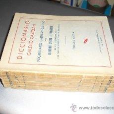 Diccionarios de segunda mano: DICCIONARIO GALEGO-CASTELAN E VOCABULARIO CASTELAN GALEGO LEANDRO CARRE 3ª EDICION. Lote 26237970