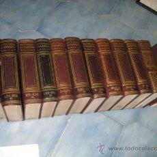 Diccionarios de segunda mano: DICCIONARIO ENCICLOPEDICO SALVAT 12 TOMOS 1935/45 PIEL Y DORADOS PERFECTO ENVIO GRATIS - COMPLETO. Lote 19109653
