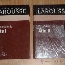Diccionarios de segunda mano: DICCIONARIO DE ARTE 2T (COMPLETO) POR LAROUSSE Y RBA EN MADRID 2003. Lote 147493701
