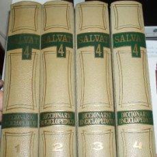 Diccionarios de segunda mano: DICCIONARIO ENCICLOPEDICO SALVAT 4 TOMOS. Lote 25984774