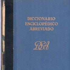 Diccionarios de segunda mano: DICCIONARIO ENCICLOPEDICO ABREVIADO. TOMO VII BEL, SANACO, ZZ . ESPASA - CALPE, S.A.. Lote 20333453