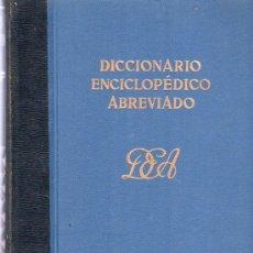 Diccionarios de segunda mano: DICCIONARIO ENCICLOPEDICO ABREVIADO. TOMO V J, OCOZOL. ESPASA - CALPE, S.A.. Lote 20333623