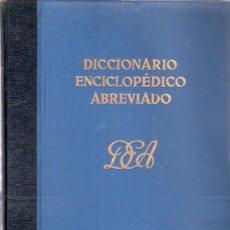 Diccionarios de segunda mano: DICCIONARIO ENCICLOPEDICO ABREVIADO. TOMO II BEL, COZVIJAR. ESPASA - CALPE, S.A.. Lote 20333902