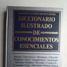 Diccionarios de segunda mano: DICCIONARIO ILUSTRADO DE CONOCIMIENTOS ESENCIALES, 1999, 608 PAG. VER FOTOS.. Lote 21566828