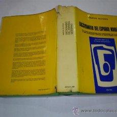 Diccionarios de segunda mano: DICCIONARIO DEL ESPAÑOL MODERNO MARTÍN ALONSO AGUILAR 1978 RM39318. Lote 22146577