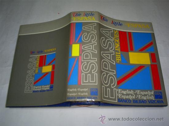 THE LITTLE ESPASA. ENGLISH – ESPAÑOL. ESPAÑOL – ENGLISH. RM48889 (Libros de Segunda Mano - Diccionarios)