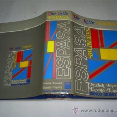 Diccionarios de segunda mano: THE LITTLE ESPASA. ENGLISH – ESPAÑOL. ESPAÑOL – ENGLISH. RM48889. Lote 24332012
