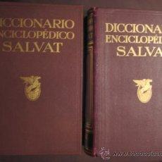 Diccionarios de segunda mano: 2 TOMOS DEL DICCIONARIO ENCICLOPEDICO SALVAT 1.957 (TOMOS 3 Y 10). Lote 24964593