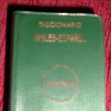 Diccionarios de segunda mano: MINIATURA DICCIONARIO INGLÉS-ESPAÑOL MIKRON-MAYFE 1971-LABORATORIO FIDES PUBLICIDAD CEFALO KAN. Lote 100569515