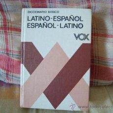 Diccionarios de segunda mano: DICCIONARIO BÁSICO LATINO-ESPAÑOL ESPAÑOL-LATINO. Lote 26883615