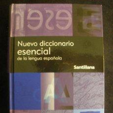 Diccionarios de segunda mano: NUEVO DICCIONARIO ESENCIAL DE LA LENGUA ESPAÑOLA. ED. SANTILLANA. 2009 1440. Lote 26992668