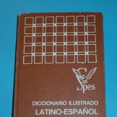 Libri di seconda mano: DICCIONARIO ILUSTRADO LATINO-ESPAÑOL. ESPAÑOL-LATINO. D. VICENTE GARCÍA DE DIEGO. Lote 27671681