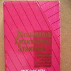 Diccionarios de segunda mano: DICCIONARIO EMPRESARIAL STANFORD.ESPAÑOL-INGLES,INGLES-ESPAÑOL(VER FOTOS) 6 LIBROS. Lote 27756927