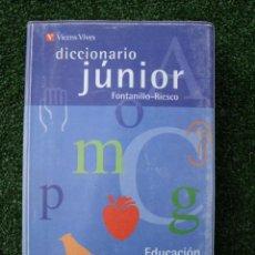 Diccionarios de segunda mano - Diccionario Júnior. (Educación primaria) Enrique Fontanillo y Mª Isabel Riesco. Edit. Vicens Vives - 27923337