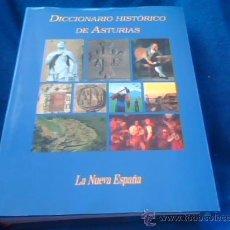 Diccionarios de segunda mano: DICCIONARIO HISTORICO DE ASTURIAS - EDITORIAL PRENSA ASTURIANA - EDITADO EN 2002. TAPA DURA CON SOBR. Lote 128203287