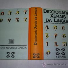 Diccionarios de segunda mano: DICCIONARIO XERAIS DA LINGUA. ILUSTRADO GALICIA RM52788. Lote 28249118