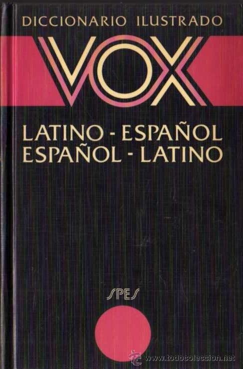Diccionario latino español / español latino más - Vendido