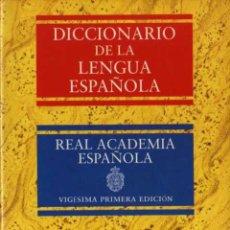 Diccionarios de segunda mano: DICCIONARIO DE LA LENGUA ESPAÑOLA 2 TOMOS - REAL ACADEMIA ESPAÑOLA 21 EDICIÓN - ESPASA CALPE. Lote 28216178