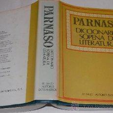 Diccionarios de segunda mano: PARNASO. DICCIONARIO SOPENA DE LITERATURA TOMO III (M-Z) AUTORES EXTRANJEROS MAURO ARMIÑO.RM34036. Lote 28709540
