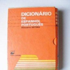 Diccionarios de segunda mano: DICIONARIO DE ESPANHOL PORTUGUES, PORTO EDITORR, JULIO MARTINEZ ALMOYNA, 1984. Lote 28730372