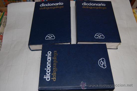 DICCIONARIO DA LINGUA GALEGA. TRES TOMOS VV.AA. RM30789 (Libros de Segunda Mano - Diccionarios)
