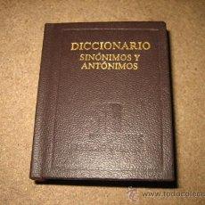 Diccionarios de segunda mano: DICCIONARIO SINONIMOS-ANTONIMOS..ISABEL JARAIZ Y Mº LUISA FDZ...EDIT.UNIVERSIDAD Y CULTURA . Lote 29489712