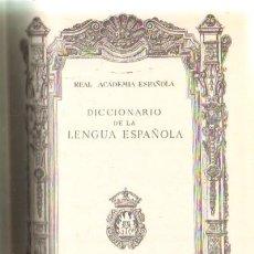 Diccionarios de segunda mano: DICCIONARIO DE LA LENGUA ESPAÑOLA. REAL ACADEMIA ESPAÑOLA. 19ª EDICION (A-DICC-118). Lote 29513125