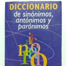 Diccionarios de segunda mano: DICCIONARIO DE SINONIMOS, ANTONIMOS Y PARONIMOS - AGATA. Lote 29699142
